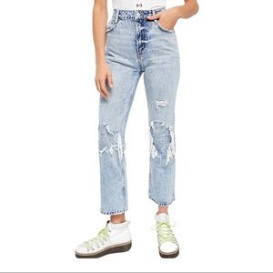 Free People (we the free) My Own Lane Jeans sz 31